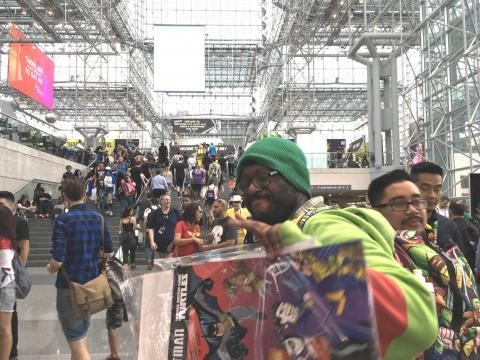 Metalhead at New York Comic Con 2017