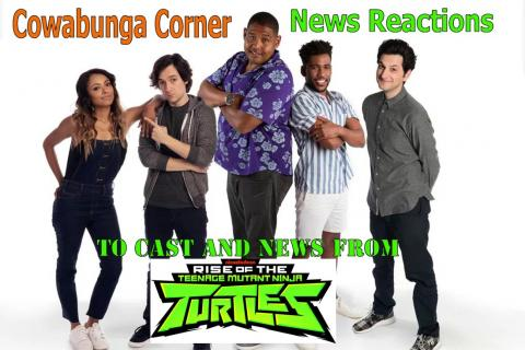 Cast for Nickelodeons Rise of the Teenage Mutant Ninja Turtles