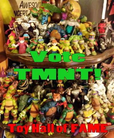 Vote TMNT into the National Toy Hall of Fame!